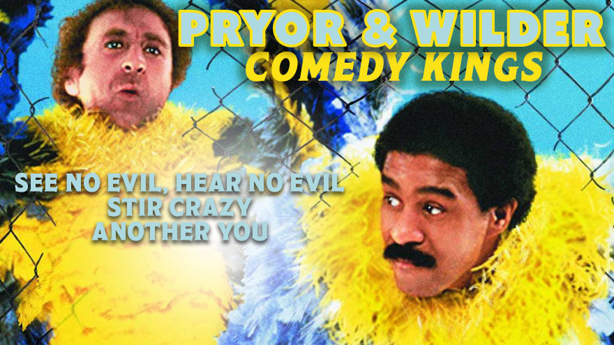 'Pryor & Wilder: Comedy Kings' on HDNET MOVIES