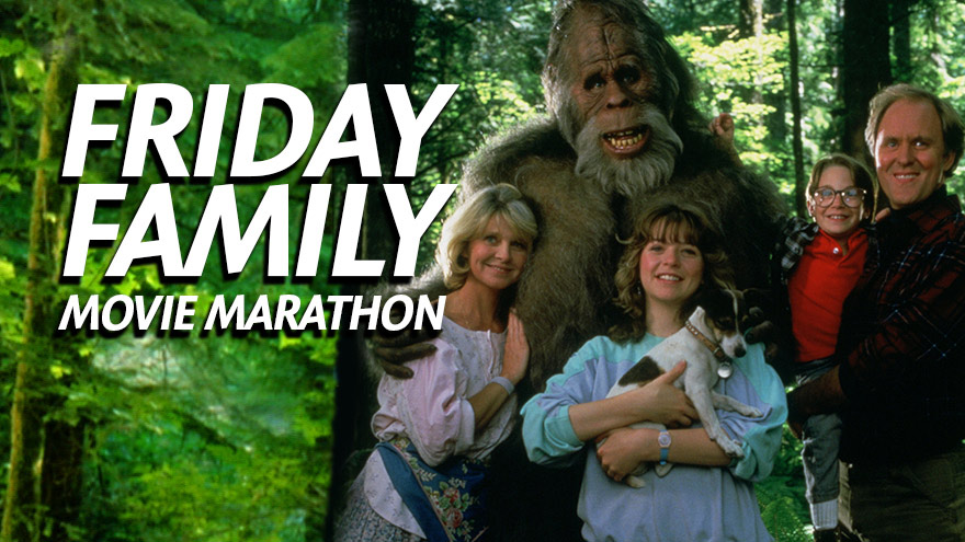'Friday Family Movie Marathon' on HDNET MOVIES