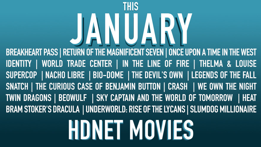 This January on HDNET MOVIES