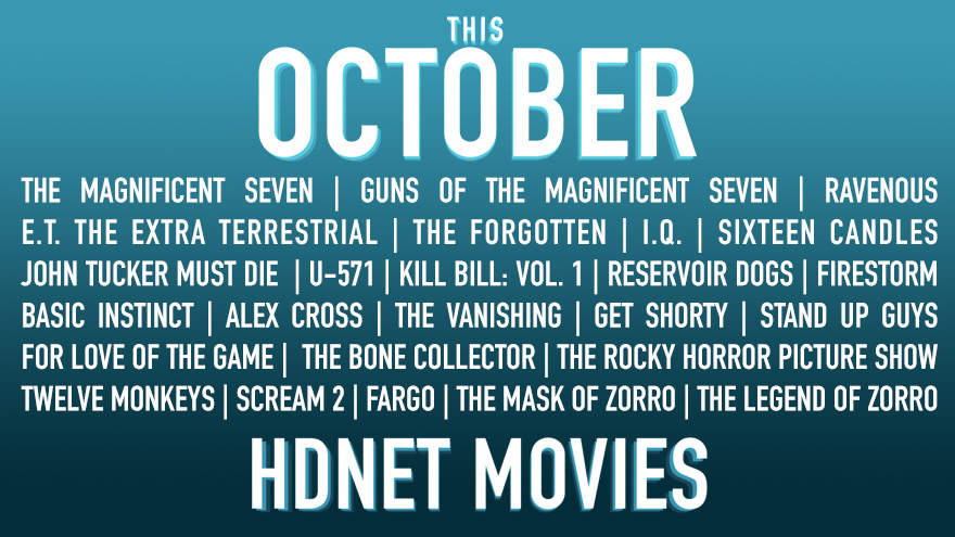 This October on HDNET MOVIES