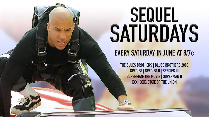 'Sequel Saturdays' on HDNET MOVIES