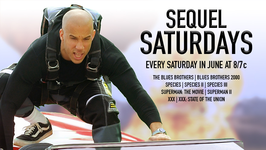 'Sequel Saturdays' on HDNET MOVIES
