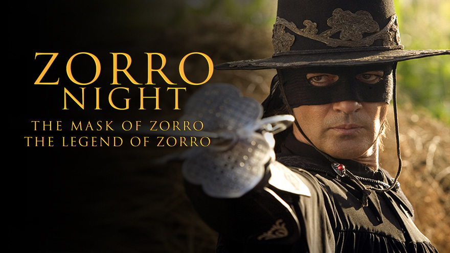 'Zorro Night' on HDNET MOVIES