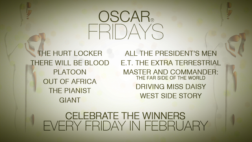 'Oscar Fridays' this February on HDNET MOVIES