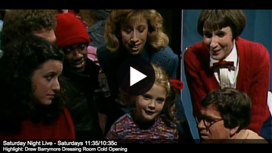 SNL Five-Timers Club: DrewB arrymore on HDNET MOVIES