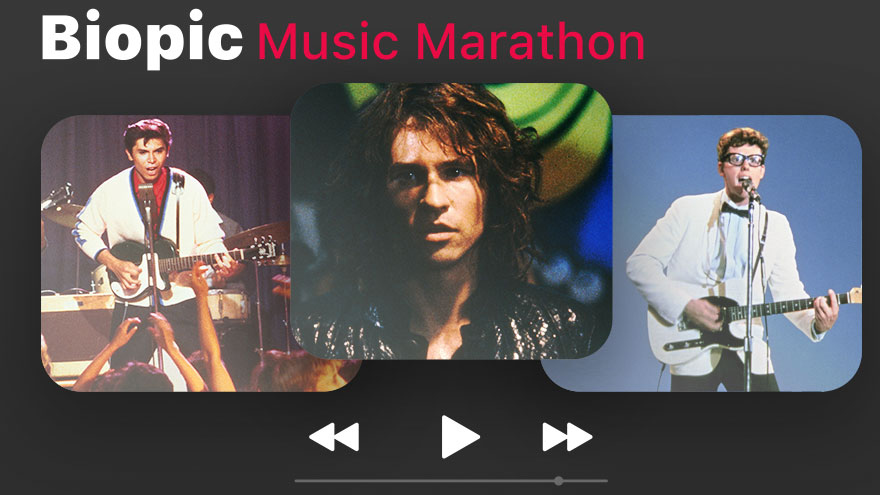 'Biopic Music Marathon' on HDNET MOVIES