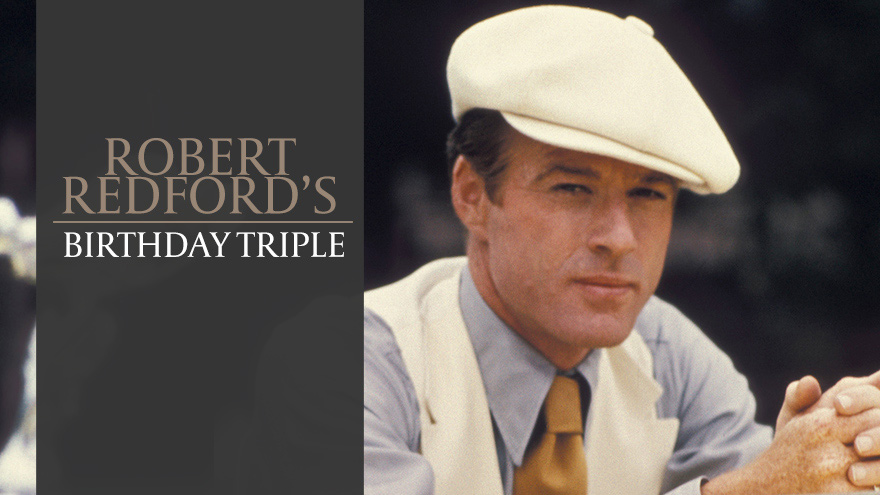 'Robert Redford's Birthday Triple' on HDNET MOVIES
