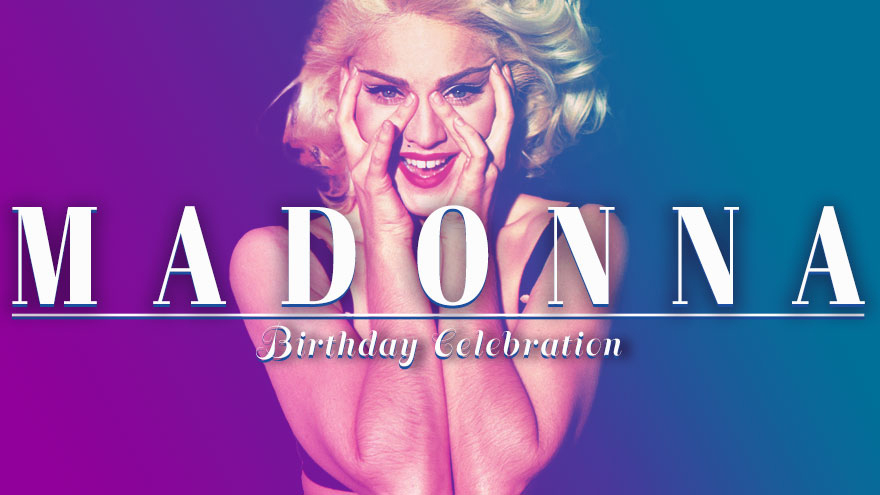 'Madonna Birthday Celebration' on HDNET MOVIES