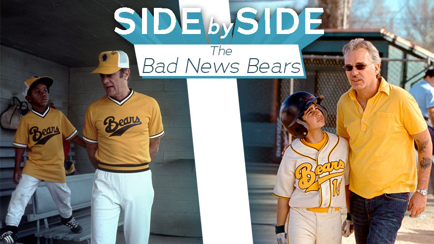 'Side By Side: The Bad News Bears' on HDNET MOVIES