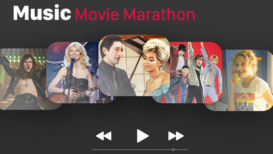 'Music Movie Marathon' on HDNET MOVIES