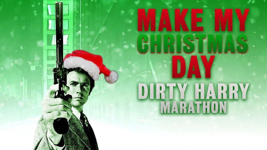 'Make My Christmas Day Dirty Harry Marathon' on HDNET MOVIES