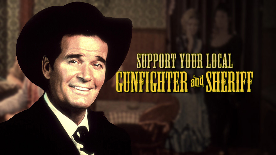 'Support Your Local Sheriff Double' on HDNET MOVIES