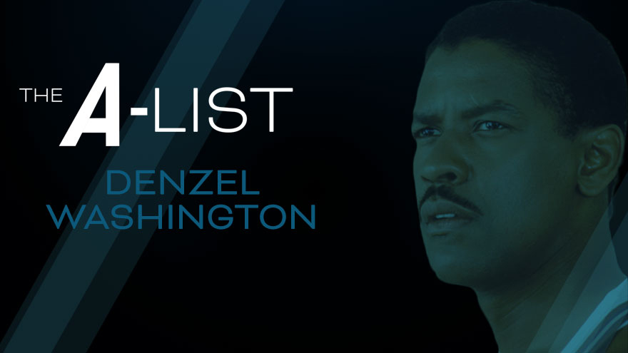 'The A-List: Denzel Washington' on HDNET MOVIES