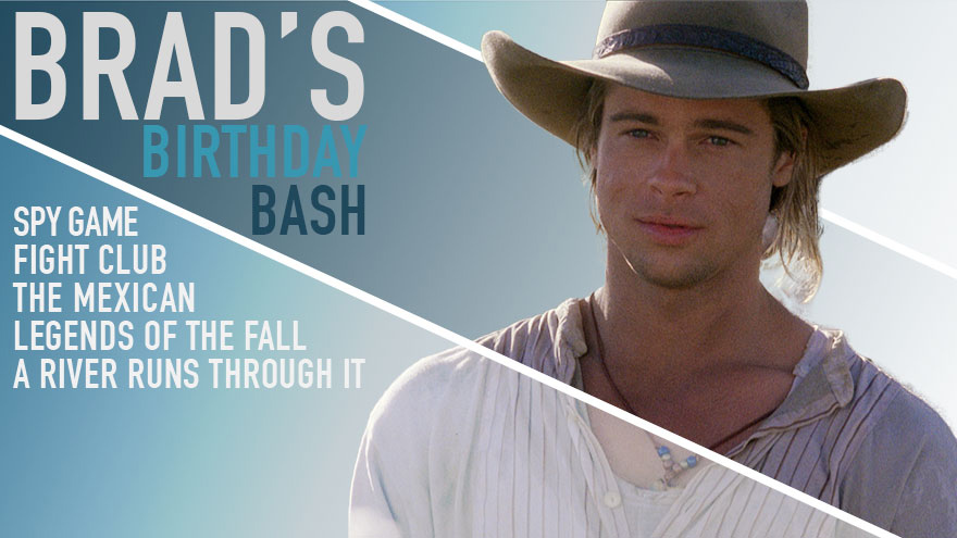 'Brad's Birthday Bash' on HDNET MOVIES