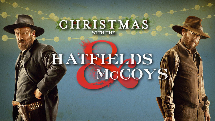 'Christmas with the Hatfields & McCoys' on HDNET MOVIES