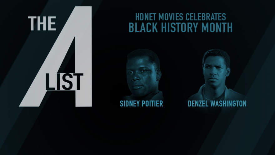 'The A List: Sidney Poitier and Denzel Washington' on HDNET MOVIES