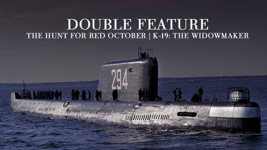 'Double Feature: The Hunt for Red October and K-19: The Widowmaker' on HDNET MOVIES