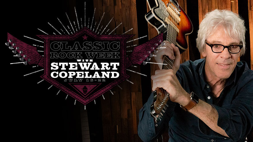 'Classic Rock Week with Stewart Copeland' on HDNET MOVIES