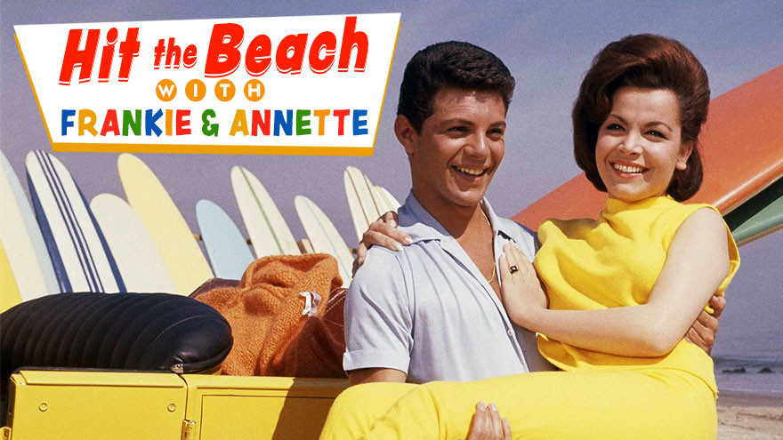 'Hit the Beach with Frankie & Annette' on HDNET MOVIES