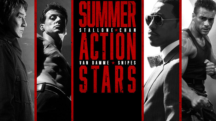 'Summer Action Stars' on HDNET MOVIES