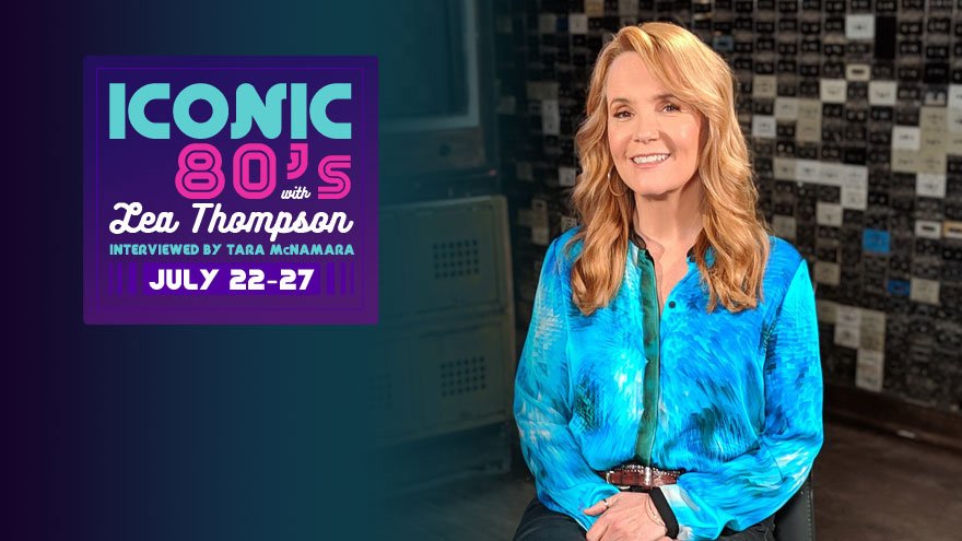 'Iconic 80's with Lea Thompson' Interviewed by Tara McNamara on HDNET MOVIES
