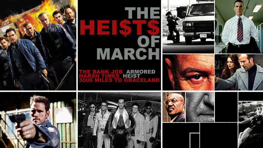 'Heists of March' on HDNET MOVIES