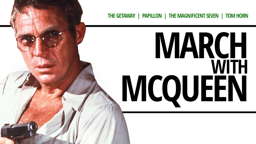 'March with McQueen' on HDNET MOVIES