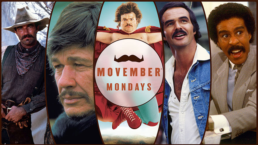 'Movember Mondays' on HDNET MOVIES