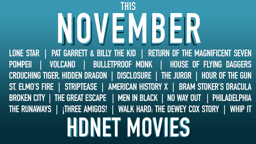 The November on HDNET MOVIES