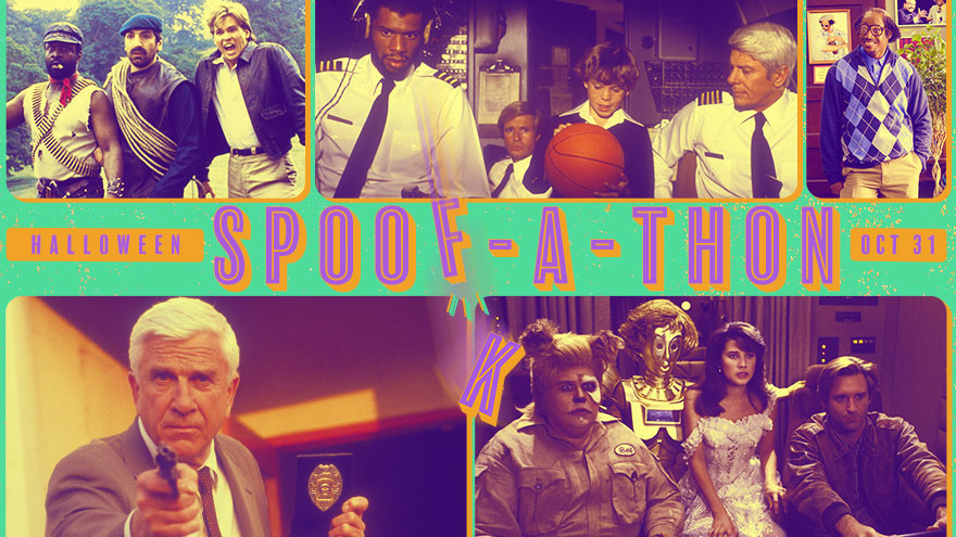 'Halloween Spoof-A-Thon' on HDNET MOVIES