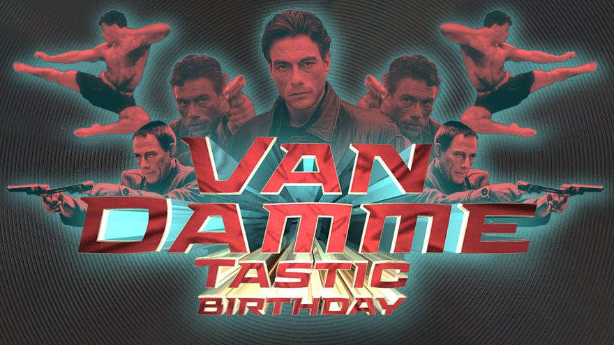 'Van Damme Tastic Birthday' on HDNET MOVIES