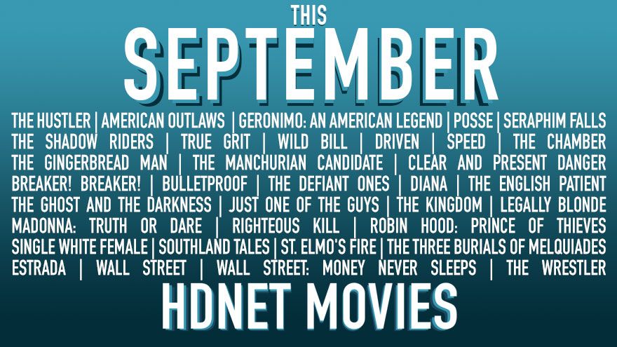 This September on HDNET MOVIES