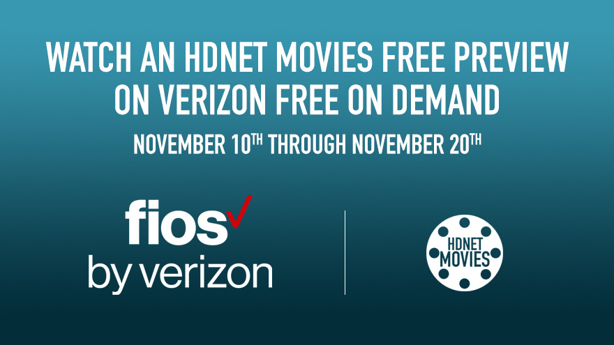 'Verizon FOD Free Preview November 10 - 20' on HDNET MOVIES