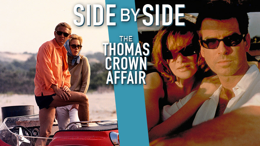 'Side by Side: The Thomas Crown Affair' on HDNET MOVIES