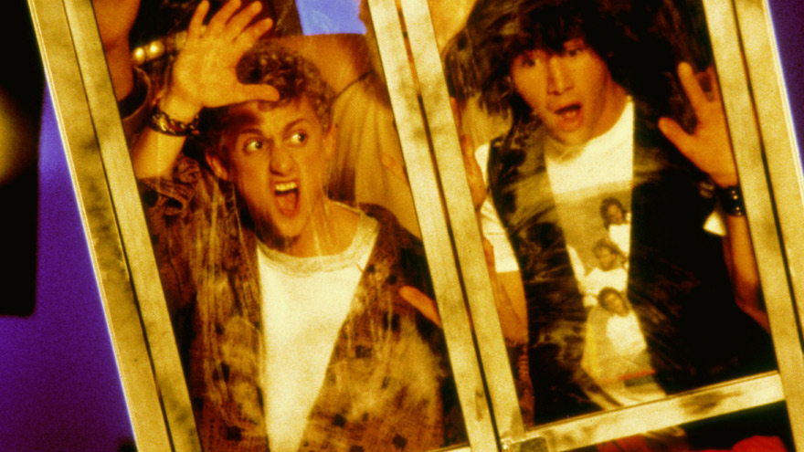 'Bill and Ted's Excellent Adventure' on HDNET MOVIES