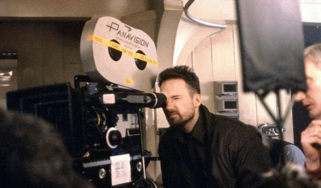 David Fincher behind the scenes of Alien 3